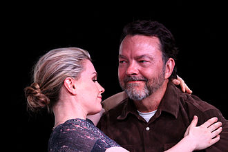 Alan Ball (screenwriter) - Ball with True Blood star Anna Paquin in July 2012