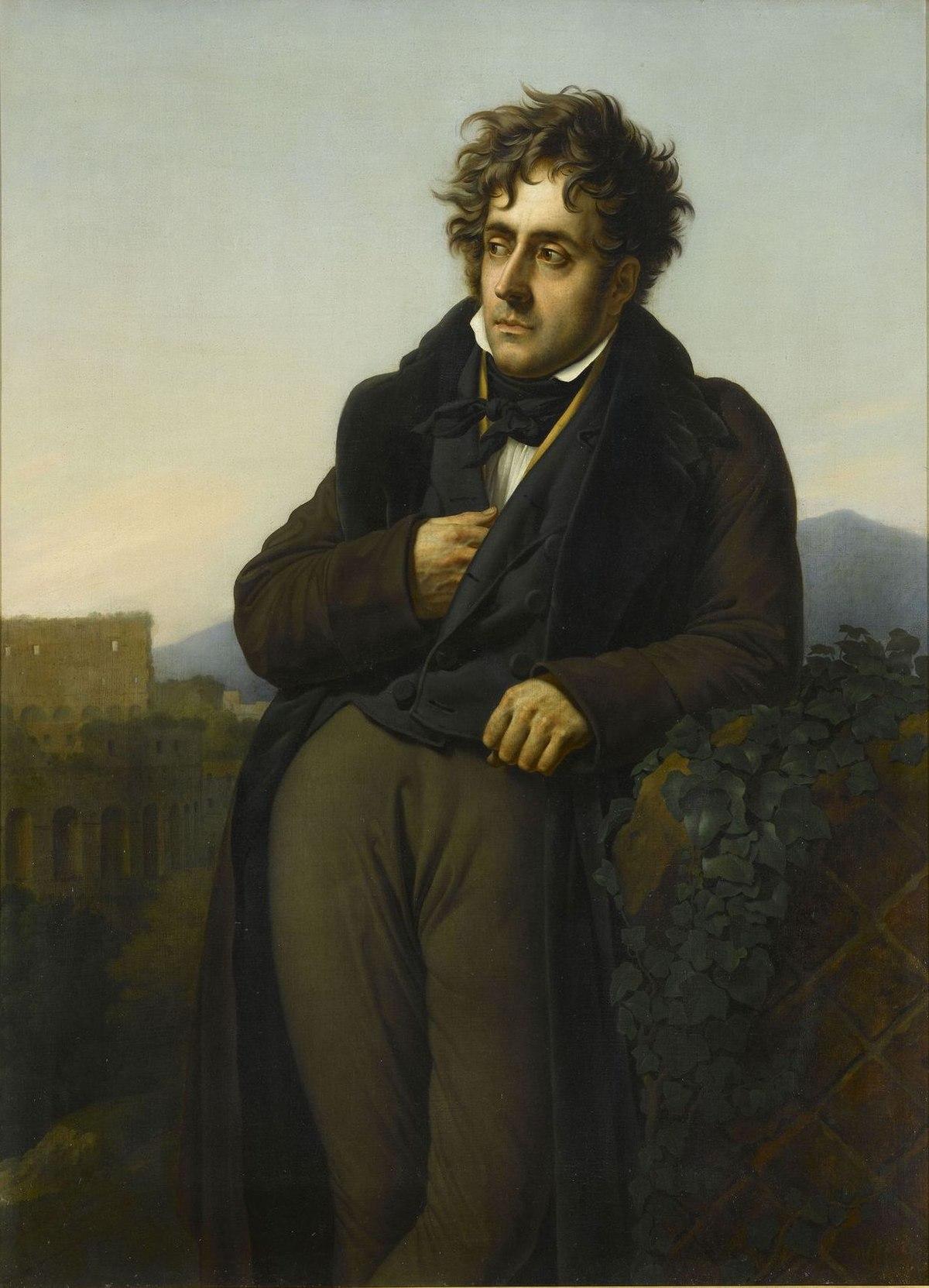 Fran ois ren de chateaubriand wikip dia for Auteur romantique