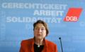 Annelie Buntenbach, Mitglied des Geschäftsführenden Bundesvorstands, Deutscher Gewerkschaftsbund (DGB).png
