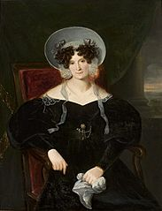 Portrait of Zofia Potocka née Branicka.