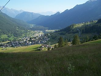 Ayas, Aosta Valley - View of Antagnod