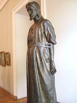 """""""Христос перед народом"""", скульптор Марк Антокольский"""