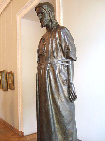 «Христос перед народом», скульптор Марк Антокольский