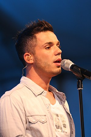 Anthony Callea - Anthony Callea at the 2012 Multicultural Festival Canberra, in February 2012