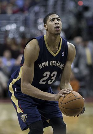2012 NBA draft - Anthony Davis was selected first by the New Orleans Hornets.