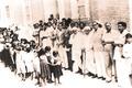 Anti-Om Mandali Committee Picketing Hyderabad Sind India.tif