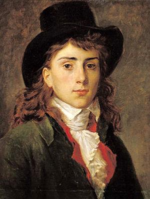Antoine-Jean Gros - Antoine-Jean Gros at age 20, c. 1791