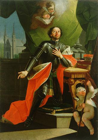 Anton Cebej - St. Leopold, oil on canvas, 109 × 77 cm c. 1760–1765