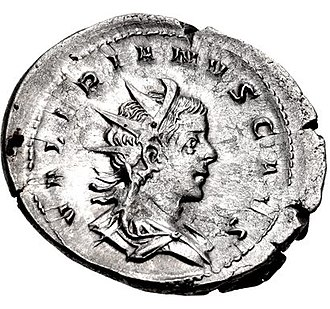 Valerian II - Antoninianus of Valerian II