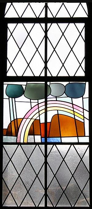 File:Antonius Kollbrunn Fenster Genesis 02 Das Gewölbe entstand und schied.jpg