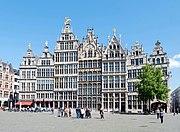 Antwerpen, Gildehäuser