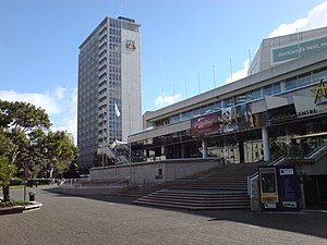 Aotea Centre - View of venue from Aotea Square
