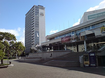 How to get to Aotea Centre with public transport- About the place