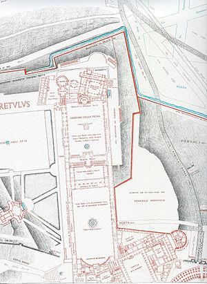 Rodolfo Lanciani - Forma Urbis Romae. Plate VI