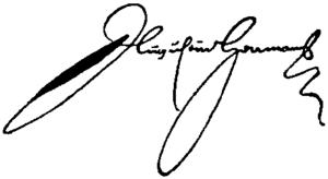 Augustine Herman - Image: Appletons' Herrman Augustine signature