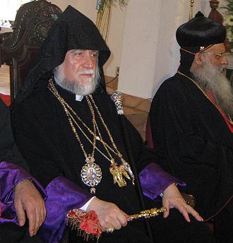Holy See of Cilicia - Image: Aram I Keshishian