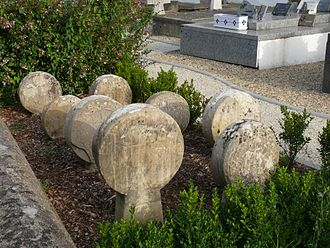 Arbonne - Old Hilarri in the cemetery