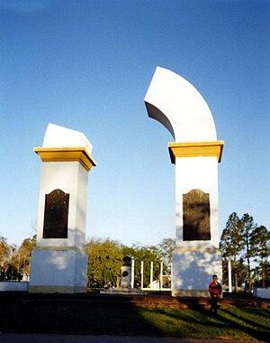 Yapeyú, Corrientes - Image: Arco Trunco Yapeyu Corrientes
