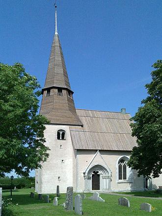 Ardre Church - Image: Ardre kyrka Gotland torn 1