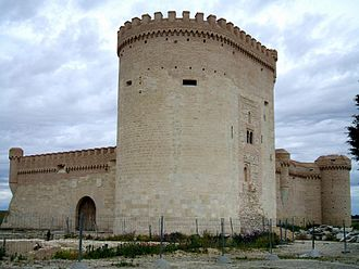 Arévalo - Castle of Arévalo, built between the 12th and 16th centuries.