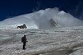 Argentina - Mt Tronador Ascent - 55 - shrouded peak (6962491709).jpg