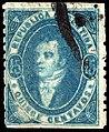 Argentina 1864 15c Sc13 used.jpg