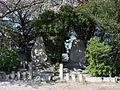 Arimatsu Jinja Monuments, Takane Okehazama Arimatsu-cho Midori Ward Nagoya 2012.jpg