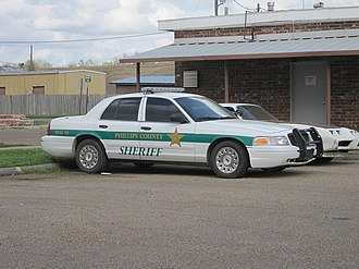 Sheriffs in the United States - Phillips County, Arkansas police cruiser