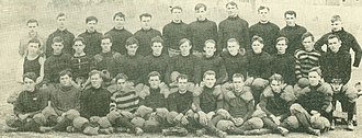 1908 Arkansas Razorbacks football team - Image: Arkansas Football 1908