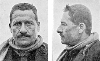 Armenoid race - A Lebanese man of Armenoid type, from Ripley (1911)