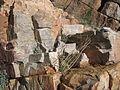Armorican quartzite - Berrueco, Saragossa, Spain.JPG