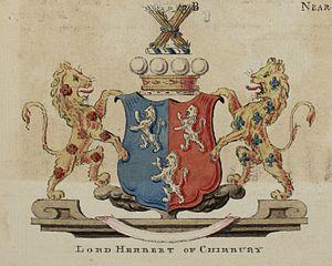 Baron Herbert of Chirbury - Arms of the Herberts of Chirbury