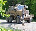 Army simulated buffalo vehicle, a 5-ton truck.jpg