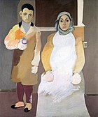 Arshile Gorky, The Artist and His Mother