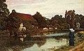 Arthur Hughes - Samostanski čoln.jpg