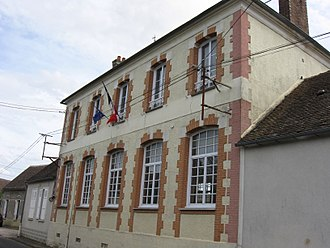 Arville, Seine-et-Marne - The town hall in Arville