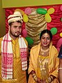 Ashraful Hussain with his Wife, Dr. Rehna Sultana.jpg
