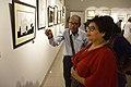 Asit Kumar Roy Explains His Creations - Group Exhibition - PAD - Kolkata 2016-07-29 5158.JPG