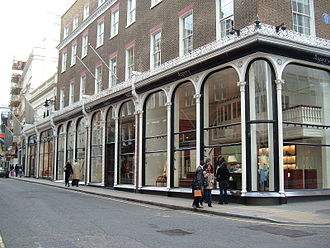 Asprey - Asprey store on Bond Street