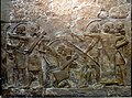 Assyrian archers attacking a city. From Khorsabad, Iraq. The Iraq Museum.jpg