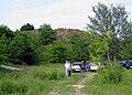 At the base of hillfort Vaskapu in Horgos, Serbia.jpg