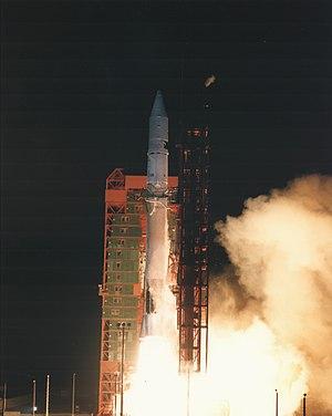Atlas G - Launch of FLTSATCOM-7 on an Atlas G.