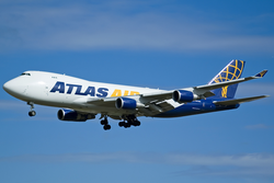 Boeing 747-400F der Atlas Air