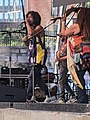 Atreyu and Davina Jackson Brennan Gilmore Wild Common Ting Pavilion downtown Charlottesville VA June 2021.jpg