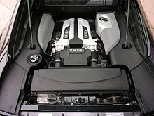 The V8 Engine In R8 4 2 Quattro