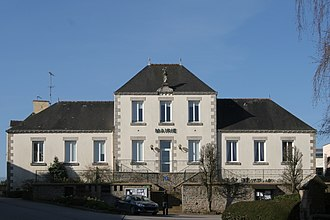 Augan - The town hall in Augan