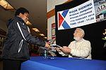 Author of 'Adak, The Rescue of Alfa Foxtrot 586' visits Misawa Air Base 150217-N-EC644-015.jpg