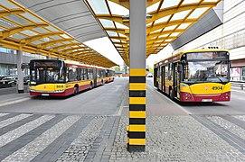 Autobusy Dworzec Centralny 2016