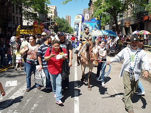 A Loisaida street fair in the summer of 2008. Avenue C Loisaida Street Festival.JPG