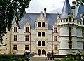 Azay-le-Rideaux Château d'Azay-le-Rideau Nordseite 3.jpg